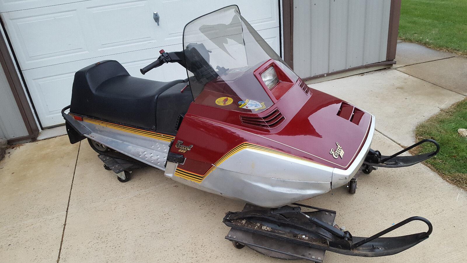 1984 Yamaha Excel III 340 Vintage Snowmobile
