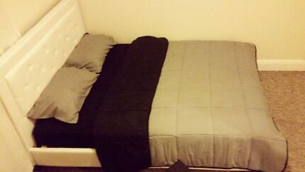 Queen size bed $150 (mattress$50) 3 months old. Bondi Junction Eastern Suburbs Preview