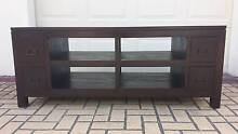 CLASSIC DARK BALINESE TV BENCH, GC Greenslopes Brisbane South West Preview