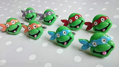 TMNT TEENAGE MUTANT NINJA TURTLES NOVELTY CUFFLINKS RETRO FUNKY MENS BEST (Best Teenage Mutant Ninja Turtle Gifts)