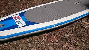 """12'6"""" INFLATABLE STAND UP PADDLE BOARD + BACKPACK SUP NO PADDLE Doonan Noosa Area Preview"""