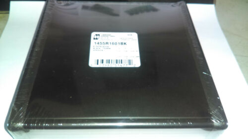 Hammond Electric 1455R1601BK Circuit Board Enclosure 160mm x 155mm x 30.5mm NEW