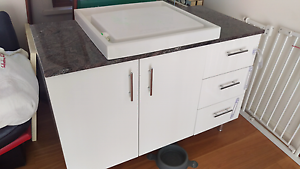 1200mm x 610mm x 830mm height stone top vanity St Ives Ku-ring-gai Area Preview