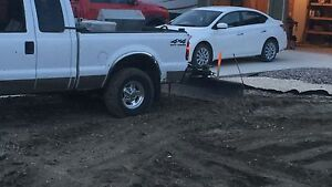 7' Pull plow for behind truck