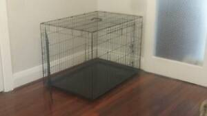 Large Dog Crate with Divider South Perth South Perth Area Preview