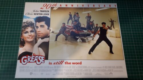 Grease 20th Ann 11x14 Lobby card John Travolta Olivia Newton John 4
