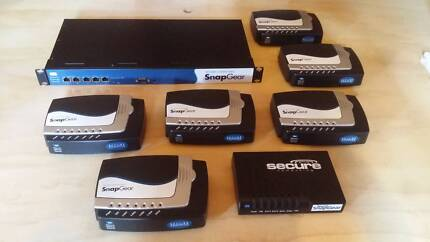 SnapGear Firewall/Router SG720 Kit including 7 VPN routers SG300 Dulwich Hill Marrickville Area Preview