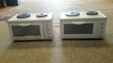 2 x Euromaid portable benchtop oven, electric cookers