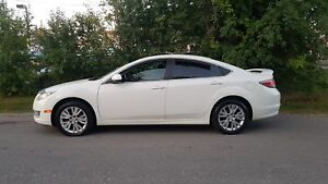 "2010 Mazda Mazda6 GS AUTO 4CYL SUNROOF LOADED 17""ALLOYS LOW KMS"