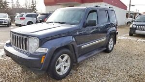* 2008 JEEP LIBERTY LIMITED 4X4, FULLY INSPECTED 8 6MTH WARRANTY
