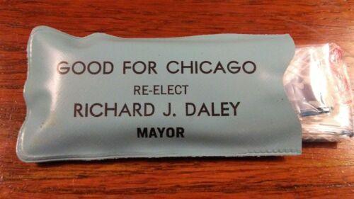 Mayor Richard J. Daley Re-election Memorabilia - Rain Bonnet