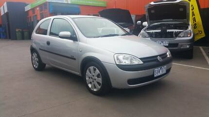 2003 Holden Barina Hatch, long reg, low kms, from $28 week TAP* Braybrook Maribyrnong Area Preview