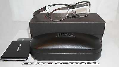 Dolce & Gabbana New Authentic Eyeglasses Army Green/Clear DG1274 1279 53 140