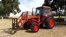 4WD Belarus 572A 70HP Tractor with Loader, Hay Spike and Bucket Cobram Moira Area Preview