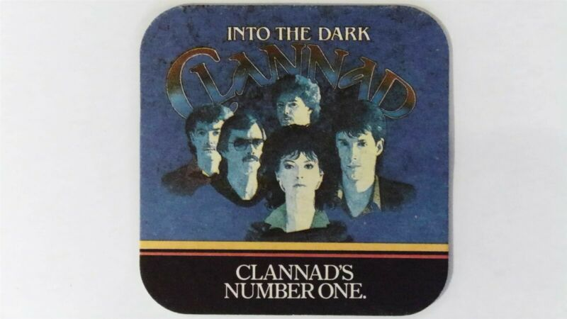 Into the Dark Clannad, Guinness Beer Mat Beer Coaster