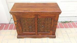 STUNNING SMALL INDIAN CABINET, GC! Greenslopes Brisbane South West Preview