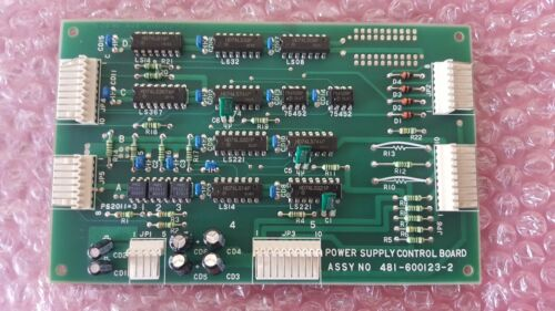 Power Supply Control Board Pcb 481-600123-2