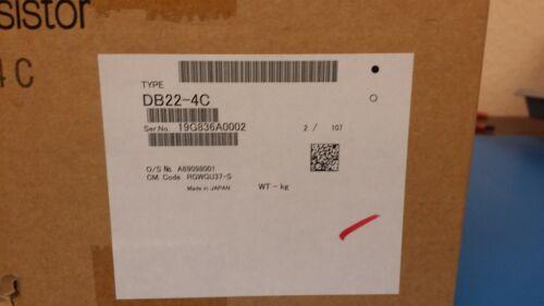 "DB22-4C FUJI ELECTRIC Braking Resistor, 22 Ohms, 480V 10% ED, 15.8""Hx7.1""Wx5.7""D"