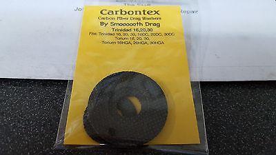 Carbon Carbontex Smooth Drag washer kit Shimano Trinidad 16 20 30 16DC 20DC 30DC