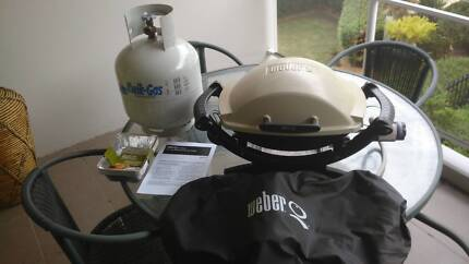 Weber Baby Q BBQ with extras
