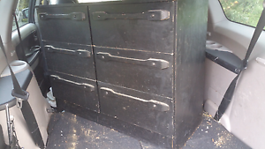 Stylish black cabinet Box Hill Whitehorse Area Preview