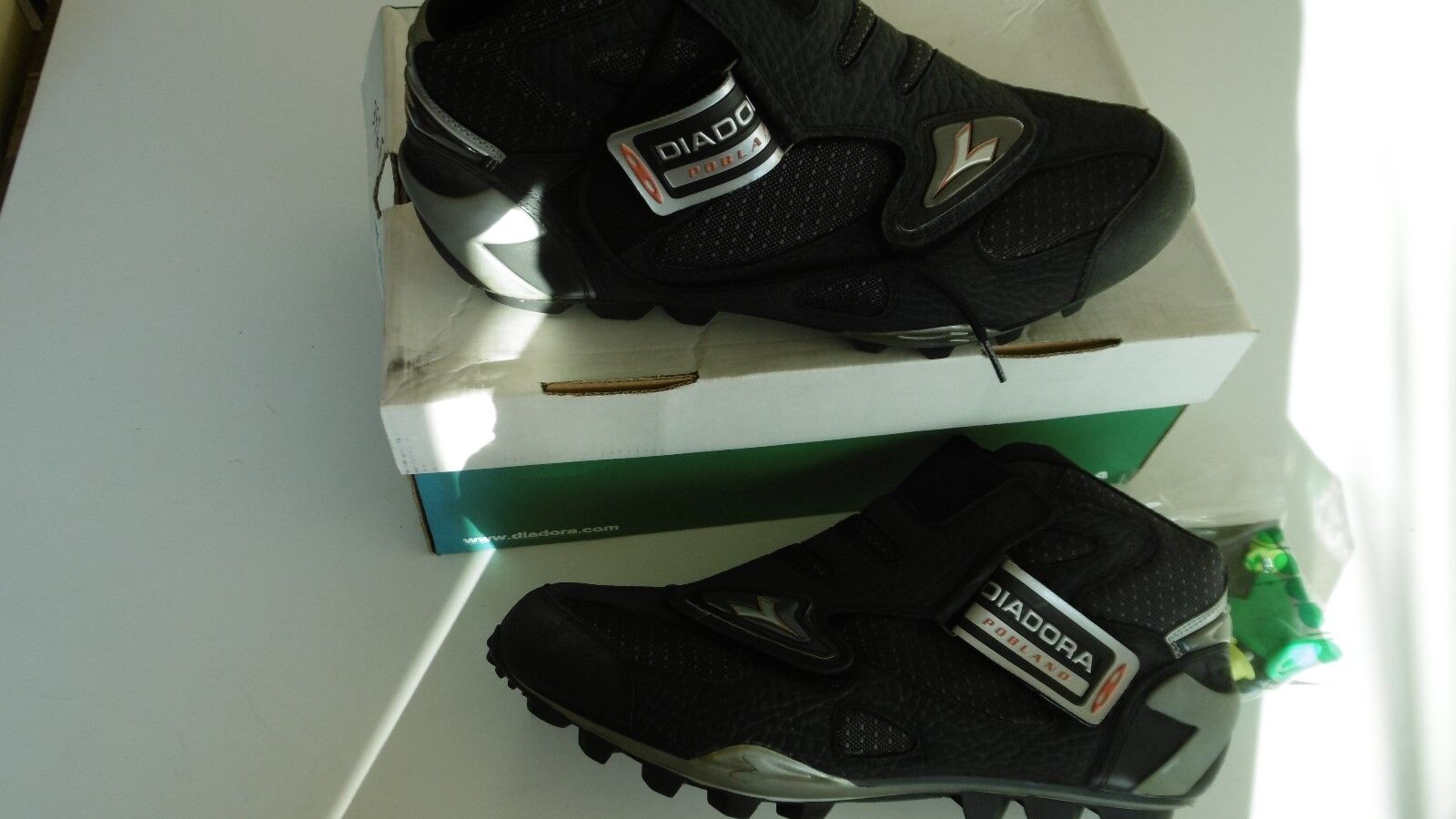 Diadora Pobland Black Shoes Size 46 New In Box