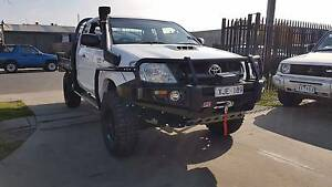2009 Toyota Hilux SR Space Cab Tray Ute 4X4 TURBO DIESEL Williamstown North Hobsons Bay Area Preview