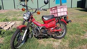 83 Honda CT110 Postie Bike with Lifan 140cc Pitbike motor fitted Eagleby Logan Area Preview