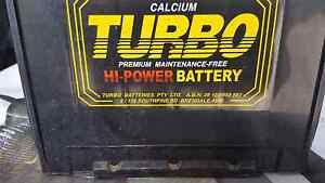 Turbo Maintenance Free Calcium car battery Gympie Gympie Area Preview
