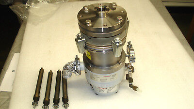 Pfeiffer Tph 110 Turbomolecular High Vacuum Pump Mod Nr Pm P01 109 W 4 Handle