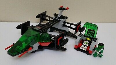 VINTAGE LEGO SPACE POLICE 2 6897 REBEL HUNTER 100% COMPLETE EUC & RARE!
