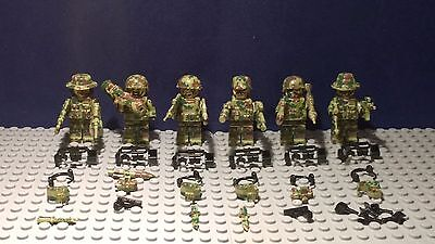 Modern Army Soldiers, Figures, SAS, Military Police, fits with Lego