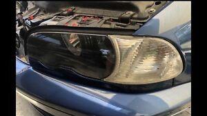 Bmw E46 coupe left headlight