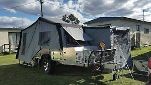 CUB Brumby Offfoad rear fold Camper Trailer, near new Kingston Kingborough Area Preview