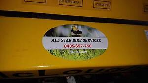 ALLSTAR DIGGER HIRE - EASY TO USE NEW Mcloughlin Diggers & Attach Eden Hill Bassendean Area Preview