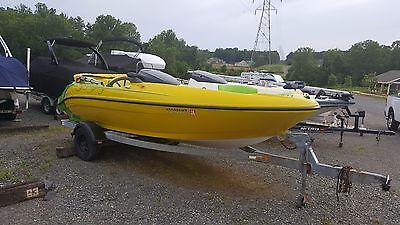 Sea Doo Challenger 20 foot 240 hp jet boat Mercury power and trailer in NC