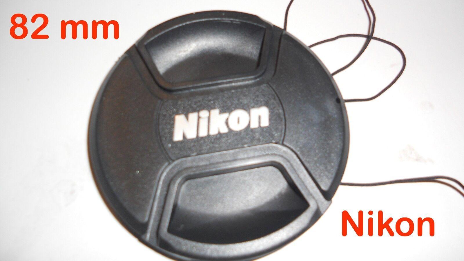 82 mm Nikon Compaible Lens Cap Pinch Type LC-82