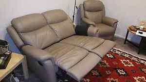 2 seater and 1 seater recliner North Adelaide Adelaide City Preview