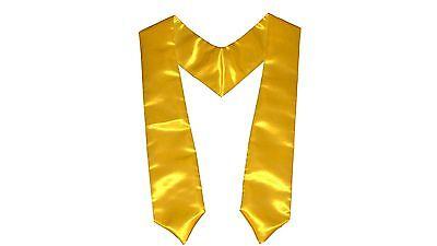 LA Linen Bridal Satin Graduation Sash / Stole . Made in - Graduation Sash