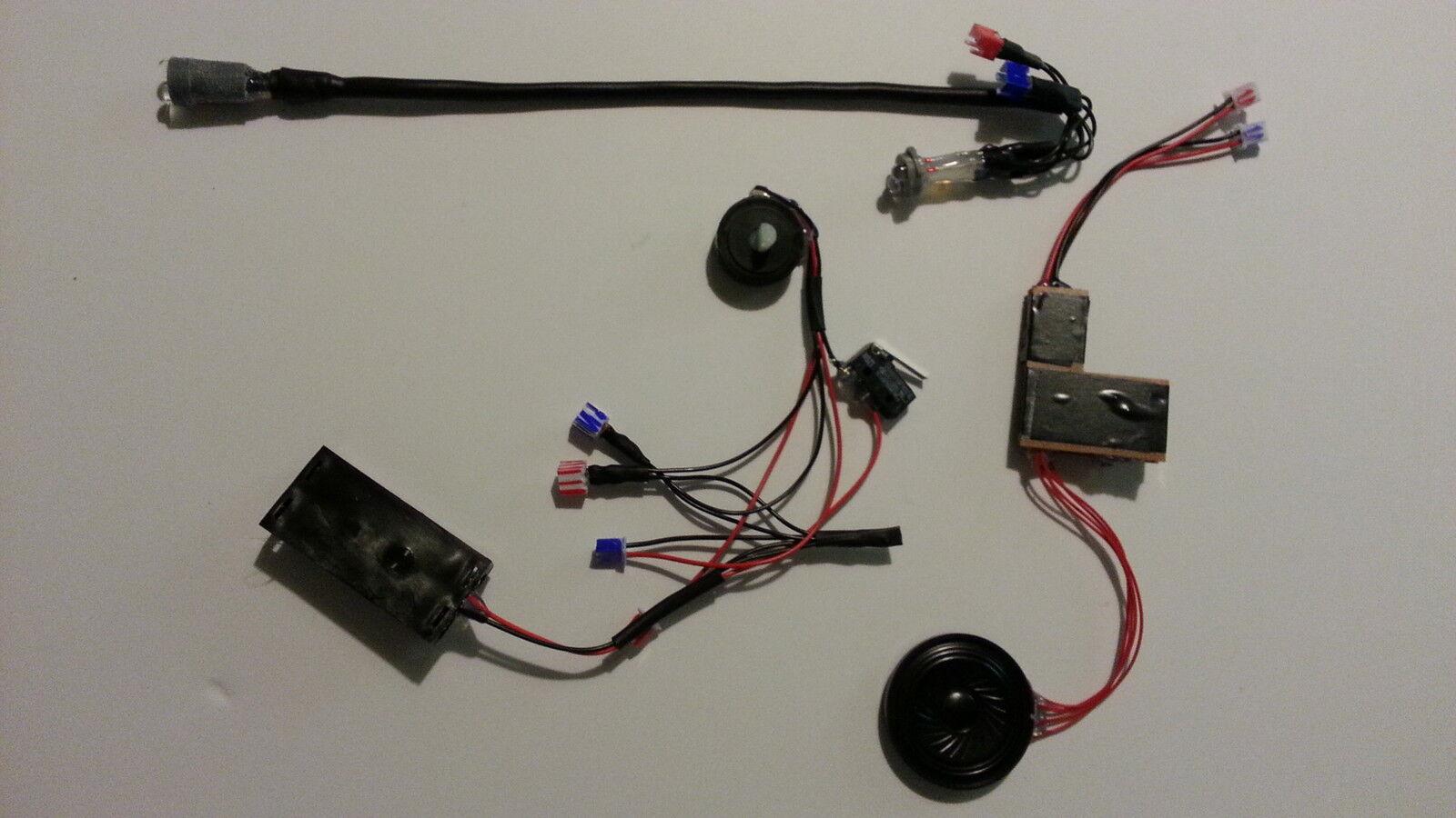 LIGHTS / SOUND DIY KIT for Blaster-Master Uber E-11 Blaster Rifle Model