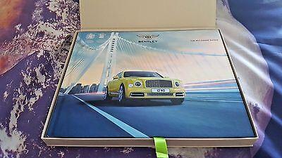 Bentley Mulsanne Range MY18 HARDBACK Sales Brochure  inc Speed & EWB 131pg
