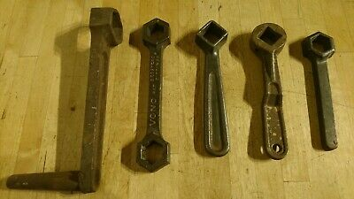 LOT OF ANTIQUE BEDSTEAD SPANNERS - COLLECTABLE  - INC VONO