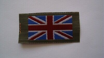 ANY 10 Union Jack Flag UK Army badge badges patches woven soldier ensign TRF