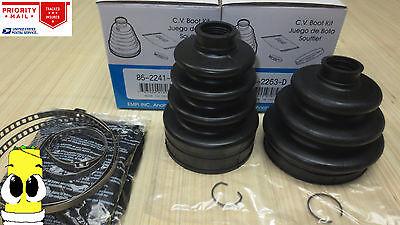Inner  Outer CV Axle Boot Kit for Dodge Caravan Grand 1996 1999 All Models