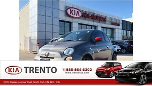 2013 Fiat 500 ABARTH TURBO SPORT/LEATHER/MANUAL/3M HOOD BRA