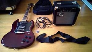 Electric Guitar + Amp + Extras Bundle Sinnamon Park Brisbane South West Preview