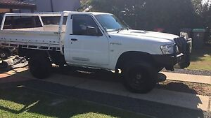 2008 Nissan patrol ute Bligh Park Hawkesbury Area Preview