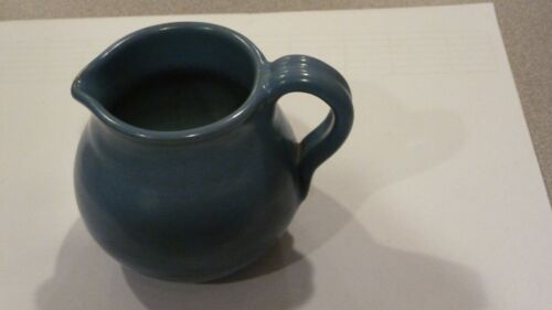 """MARBLEHEAD POTTERY 3"""" CREAMER BLUE EXCELLENT CONDITION"""