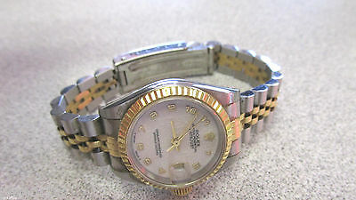 18k Gold & Stainless Steel Woman