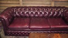 Chesterfield Three Seater Sofa Balhannah Adelaide Hills Preview